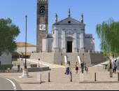 Il progetto della nuova piazza di Coste a Maser